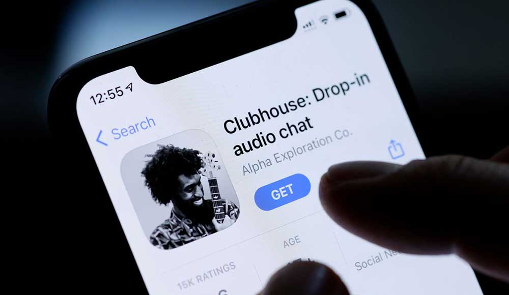 clubhouse app invito audio chat social